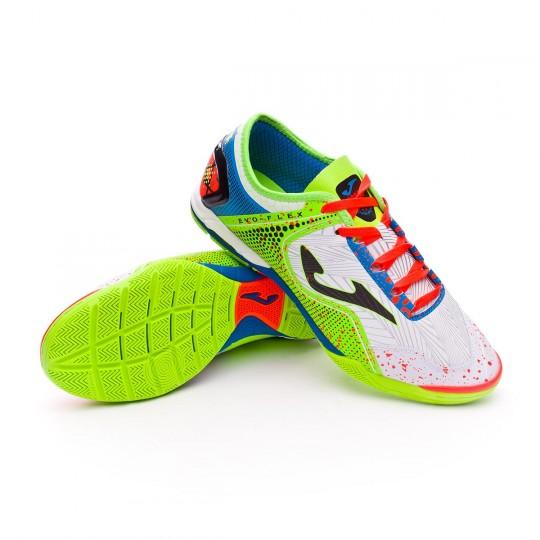 Chaussure de futsal  Joma Evo Flex White