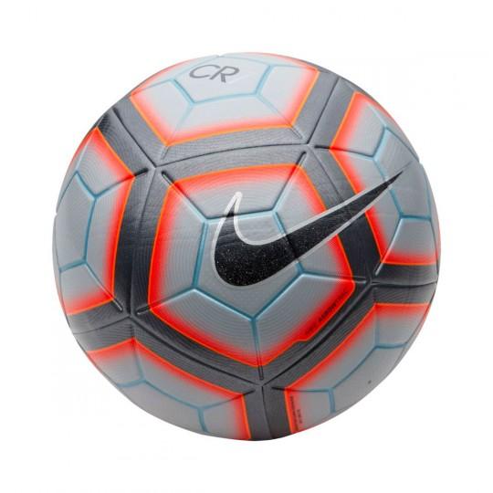 Balón  Nike CR7 Ordem 4 Wolf grey-Total crimson