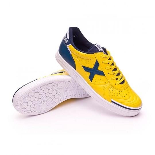 Sapatilha de Futsal  Munich G3 Profit Amarelo