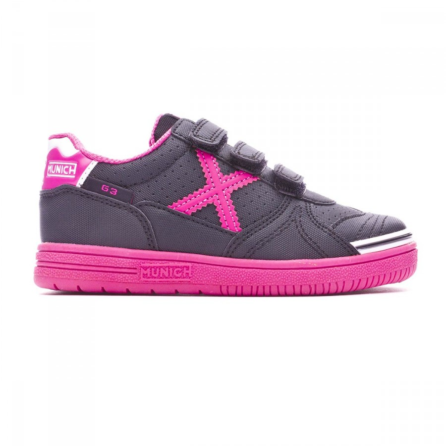 Munich Sneaker G3 Kid rosa 33 Junior