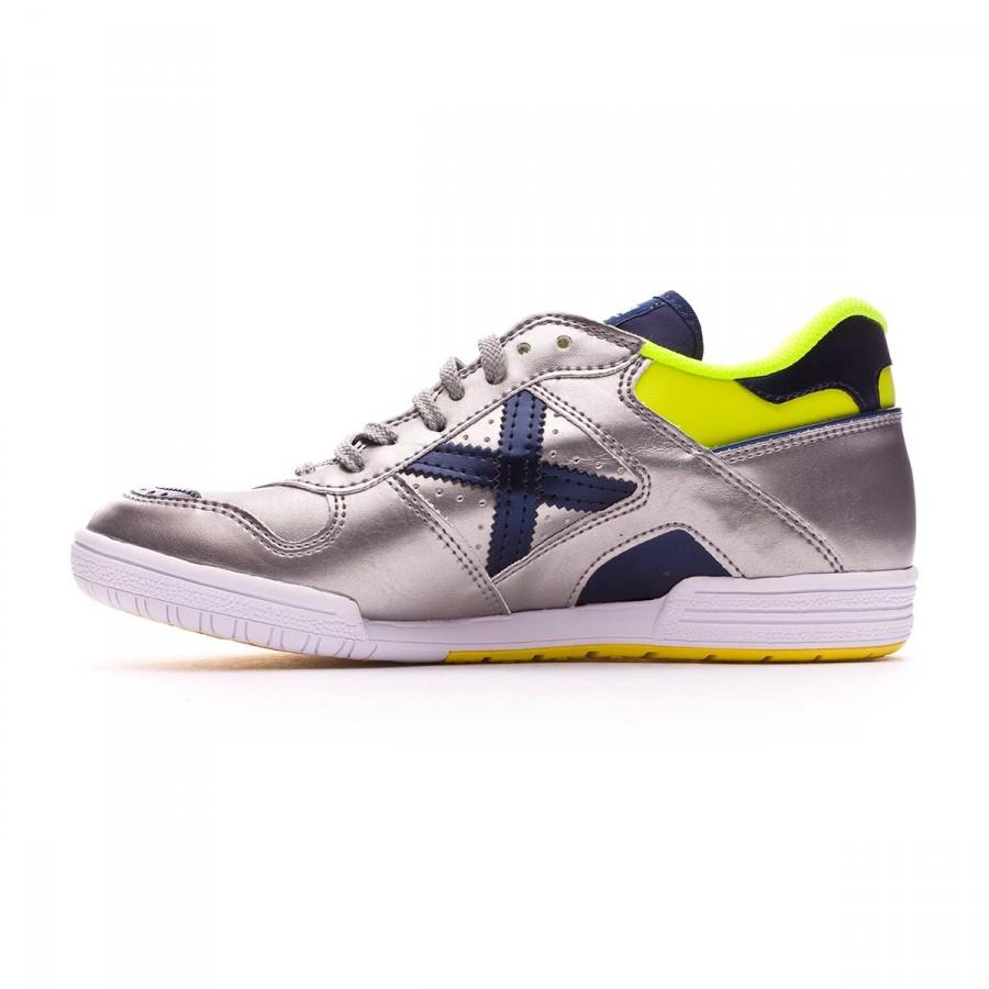 Chaussure de futsal Munich Continental Revolution Argent - Boutique ... 64d5f6b60e222