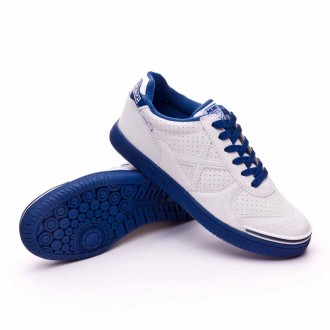 Scarpa  Munich Jr G-3 BTS Kid Laces Bianco-Blu