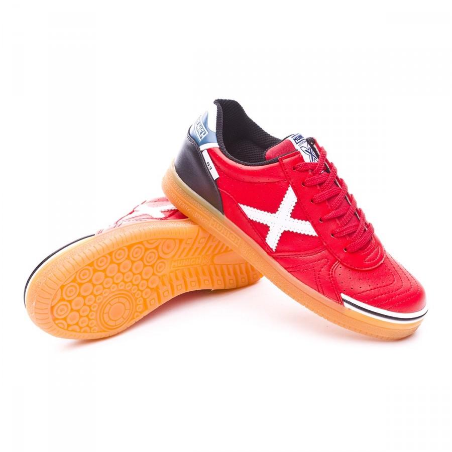 bb3dadb37ed96 Futsal Boot Munich Jr G3 Profit Red - Football store Fútbol Emotion