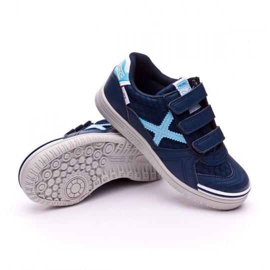 Boot  Munich Jr G3 Mesh Velcro Navy blue