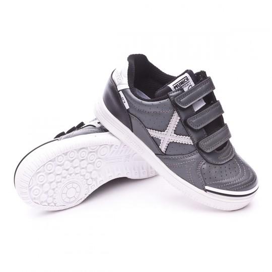 Boot  Munich Jr G3 Profit Velcro Ceniza