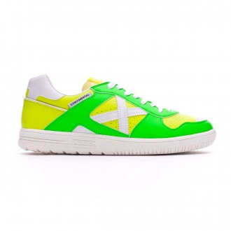 Futsal Boot  Munich Exclusive Continental Green-Fluorescent yellow