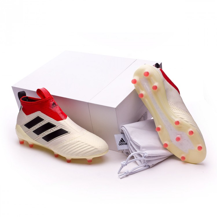fb25fbe01eb7 Football Boots adidas Ace 17+ Purecontrol FG Champagne White-Core ...