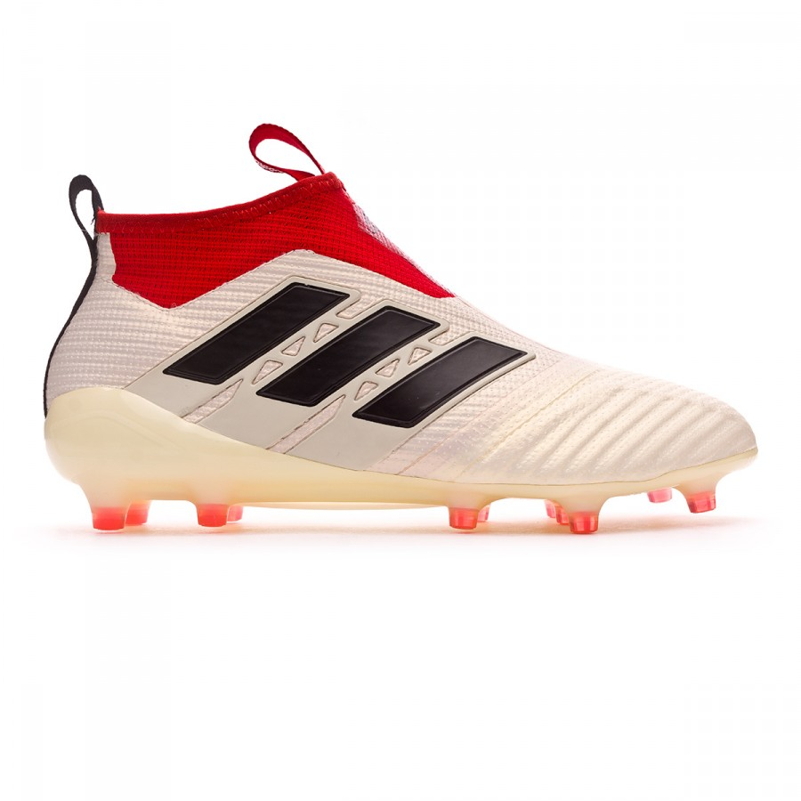 competitive price 76a01 45f01 Football Boots adidas Ace 17+ Purecontrol FG Champagne White-Core black-Red  - Tienda de fútbol Fútbol Emotion