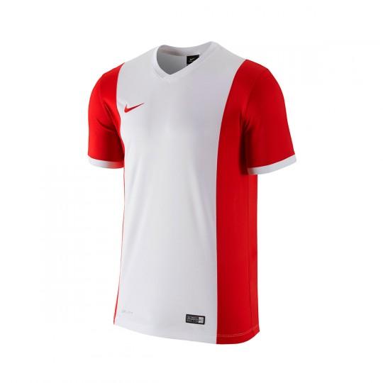 Maillot  Nike jr Park Derby m/c White-University red
