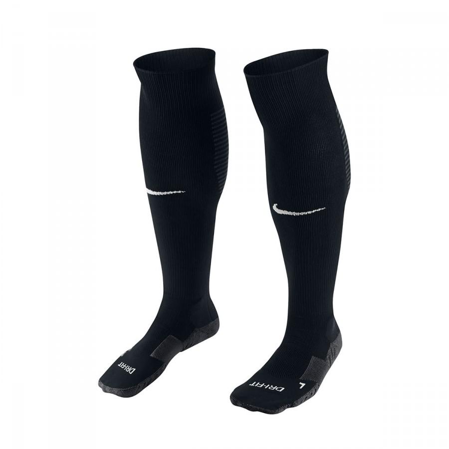 98e092c98ad7 Football Socks Nike Matchfit Over-the-Calf Black-White - Football ...