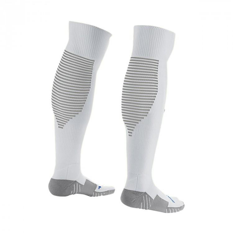 eb31abde3 Football Socks Nike Matchfit Over-the-Calf White-Royal blue - Leaked ...