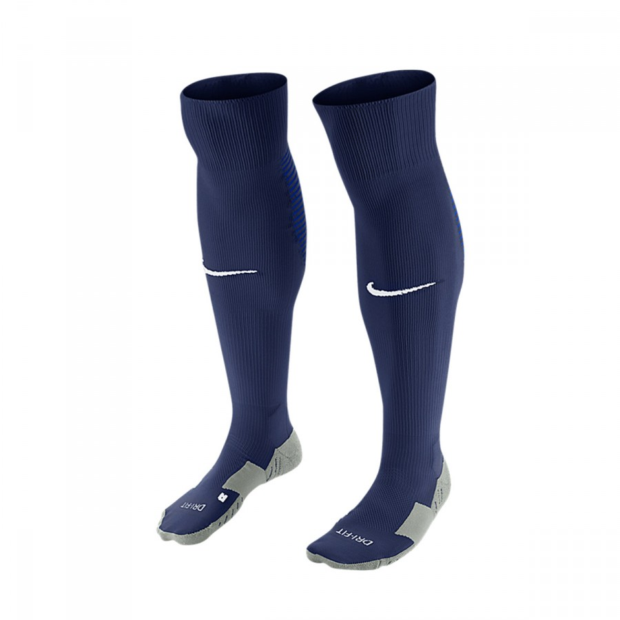 Ineficiente no pagado Notorio  Football Socks Nike Matchfit Over-the-Calf Midnight navy-Royal blue -  Football store Fútbol Emotion