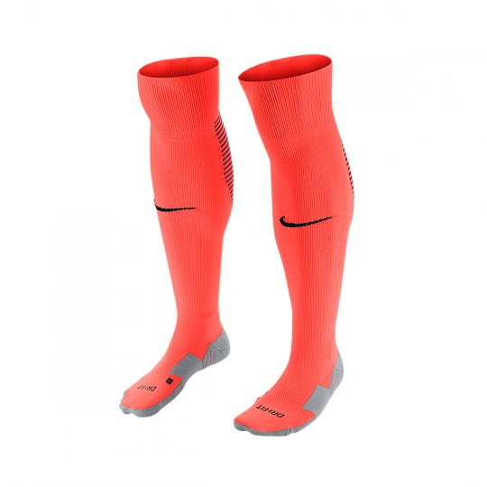 Chaussettes  Nike Matchfit Over-the-Calf Bright crimson-Black