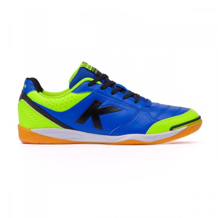 b8a92f0b513 Futsal Boot Kelme K-Strong 17 IN Royal-Lime - Football store Fútbol Emotion