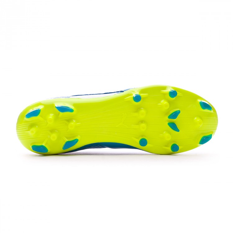 03067414fe2 Boot Puma One 17.2 AG Atomic blue-Puma white-Safety yellow - Leaked ...
