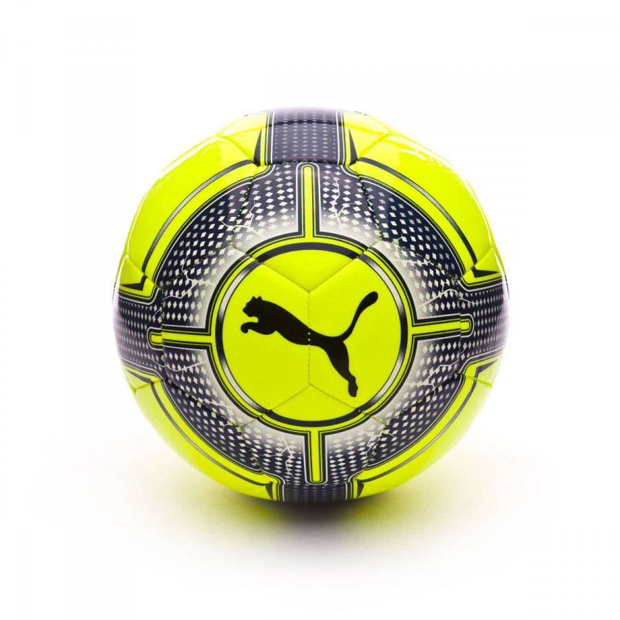 Ball Puma evoPOWER 6.3 Trainer MS Safety yellow-Blue depths ... a9406dccd57