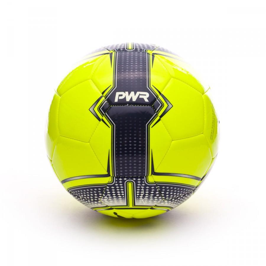 Ball Puma evoPOWER 6.3 Trainer MS Safety yellow-Blue depths - Football  store Fútbol Emotion ded4b3f8095