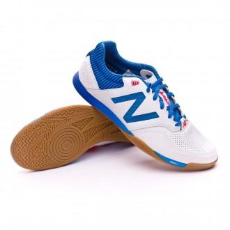 Sapatilha de Futsal  New Balance Audazo 2.0 Pro Futsal White-Blue