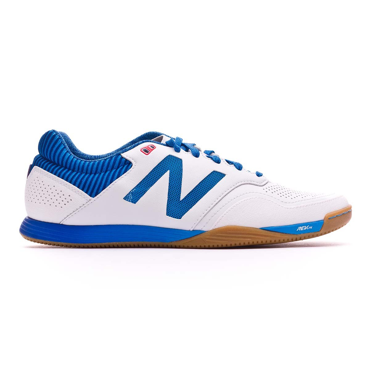 cdb2cab99 Futsal Boot New Balance Audazo 2.0 Pro Futsal White-Blue - Football store  Fútbol Emotion