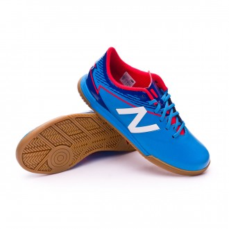 Sapatilha de Futsal  New Balance Jr Furon 3.0 Dispatch Indoor Bolt-Team royal