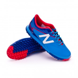 Zapatilla  New Balance Furon 3.0 Dispatch Turf Niño Bolt-Team royal