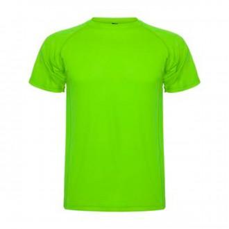 Camiseta  Roly Montecarlo Verde Lima