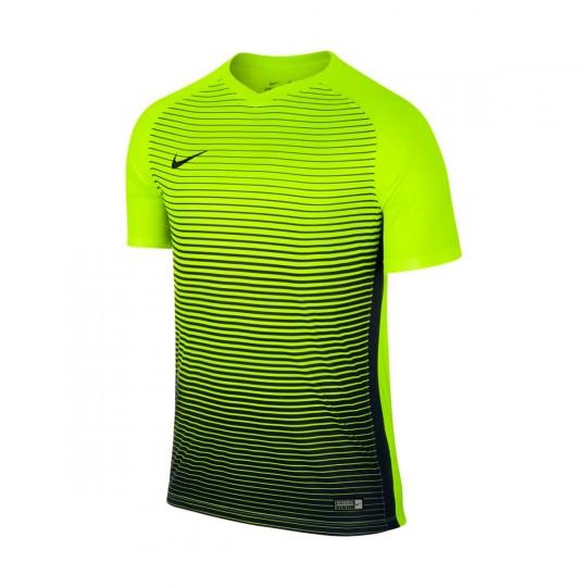 Maillot  Nike Precision IV m/c Volt-Midnight navy