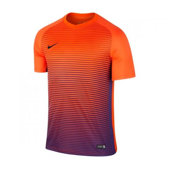 Maillot  Nike jr Precision IV m/c Safety orange-Court purple