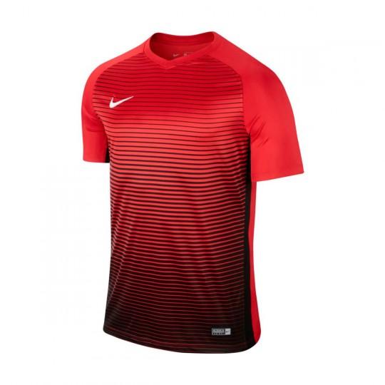 Maillot  Nike jr Precision IV m/c University red-Black