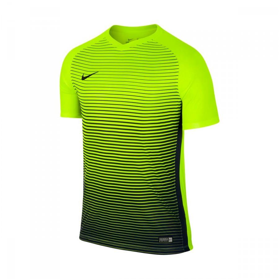 29773dee266fb Camiseta Nike Precision IV m c Niño Volt-Midnight navy - Tienda de fútbol  Fútbol Emotion
