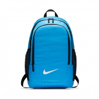 Mochila  Nike Academy Football Obsidian-Black-LT blue fury