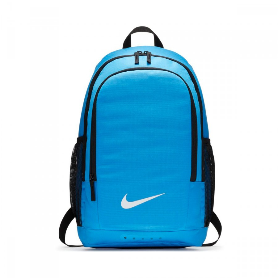 Backpack Nike Academy Football Obsidian-Black-LT blue fury ...