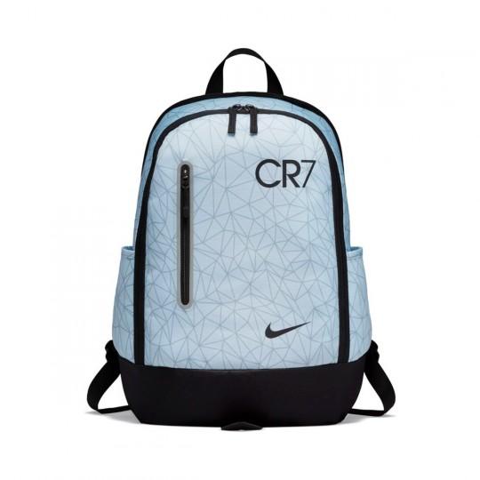 Mochila  Nike CR7 Football Niño Pure platinum-Black