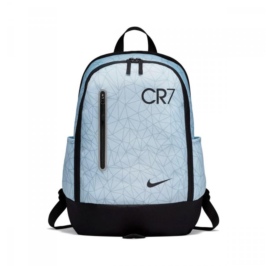 8dcfc99ae266 Backpack Nike CR7 Football kids Pure platinum-Black - Tienda de ...