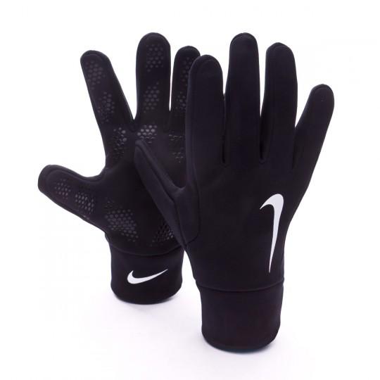 Guante  Nike Hyperwarm Field Player Black-White
