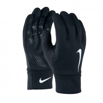 Guante  Nike Hyperwarm Field Player Black-White