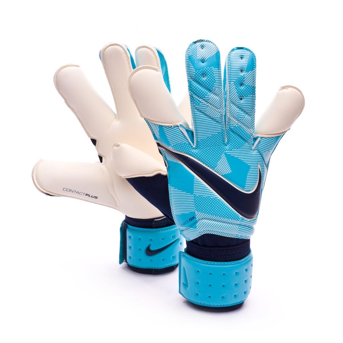 Glove Nike Vapor Grip 3 Gamma blue-Obsidian - Football store Fútbol ... 4c19bc9eb3