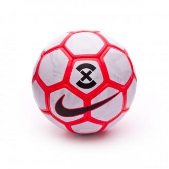 Ballon  Nike PremierX White-Bright crimson-Black