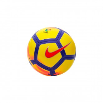 Bola de Futebol  Nike Mini La Liga Skills Football Yellow-Crimson-Purple