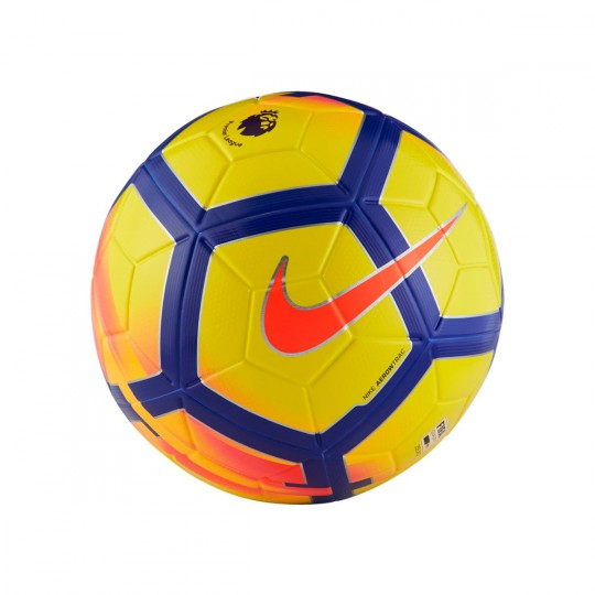 Balón  Nike Premier League Ordem V Football Yellow-Crimson-Purple