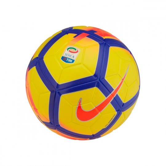 Balón  Nike Serie A Ordem V Football Yellow-Crimson-Purple