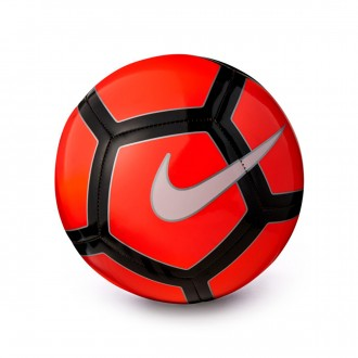 Bola de Futebol  Nike Pitch Football Bright Crimson-University red-White