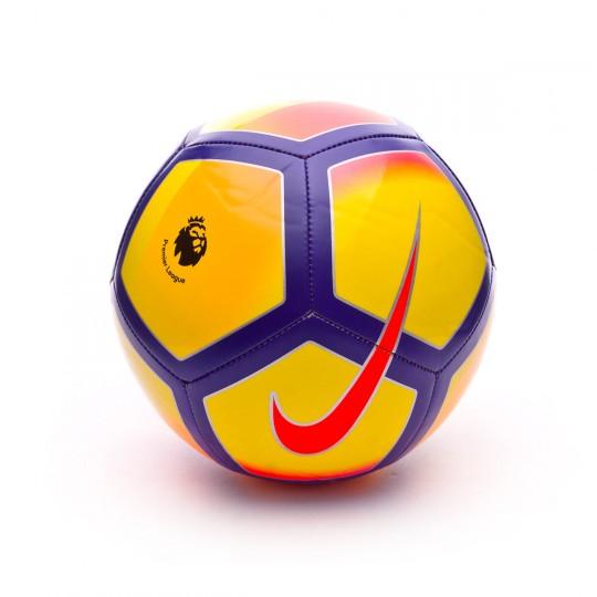 Balón  Nike Premier League Pitch Football Yellow-Purple-Pink