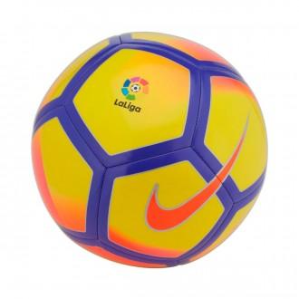 Bola de Futebol  Nike La Liga Pitch Football Yellow-Purple-Pink