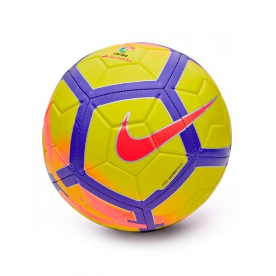 Balón  Nike La Liga Strike Football Yellow-Crimson-Purple
