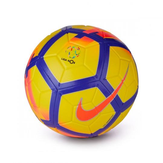 Balón  Nike Liga NOS Strike Football Yellow-Crimson-Purple