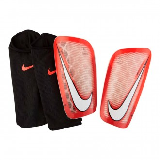 Protège tibia  Nike Mercurial Flylite Bright Crimson-University red-White