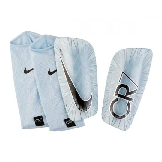 Protège tibia  Nike CR7 Mercurial Lite White-Black-Blue tint