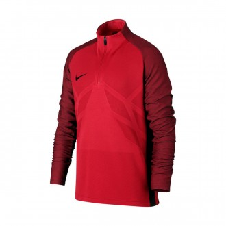 Sudadera  Nike Aeroswift Strike Dril Niño University red-Black