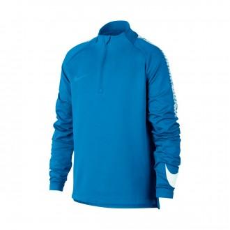 Sweatshirt  Nike Jr Squad Dry Italy blue-White